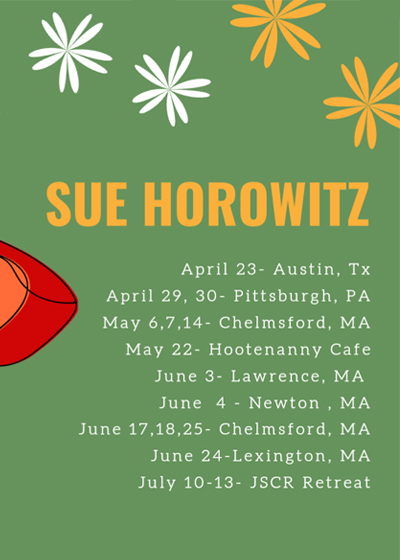 Sue Horowitz Dates